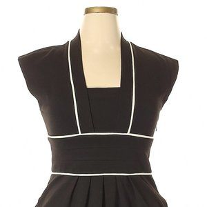 Awesome Max & Cleo Black Pocket Dress